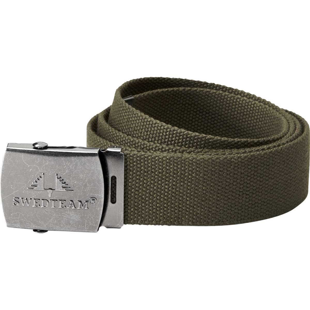 eccezionale gamma di stili e colori scegli l'ultima prezzo speciale per Dettagli su Swedteam Esercito Cintura Verde Verde
