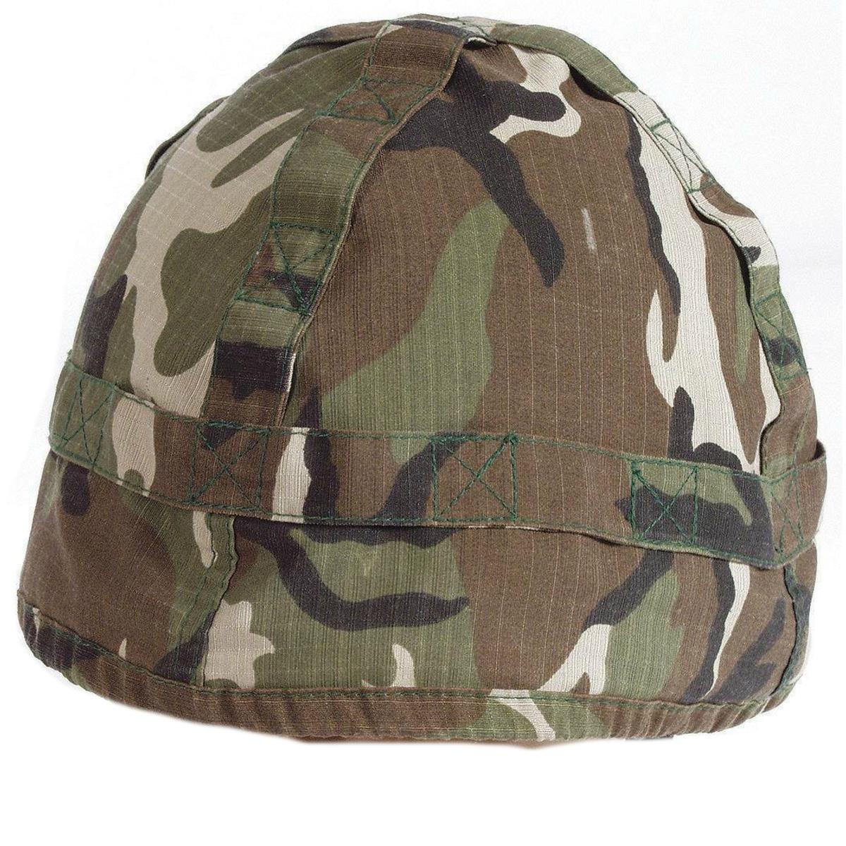 Mil-com US-Style Helmet Replica Woodland Cover Woodland Cover ... 3aca8766a989