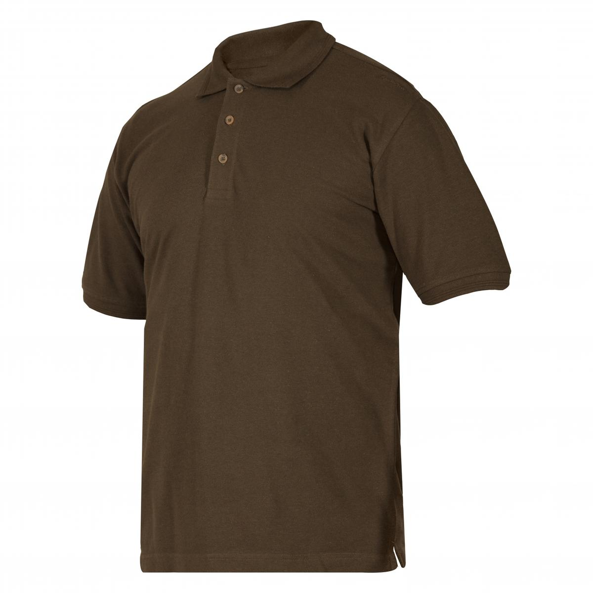 Deerhunter Redding Polo Shirt Bark green